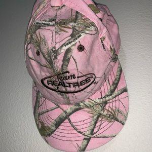 Pink Camo Hat